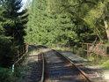 První železniční most přes Metuji pod Adršpachem.